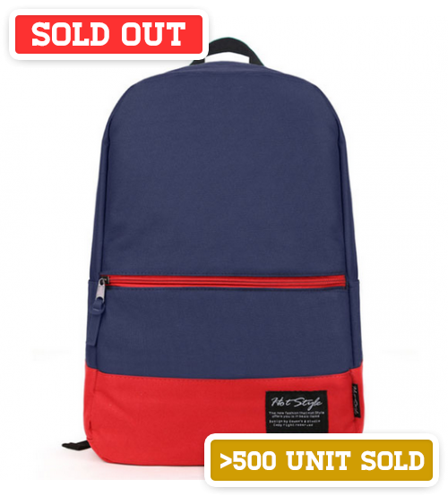 Zelda Leisure Backpack Navy Blue