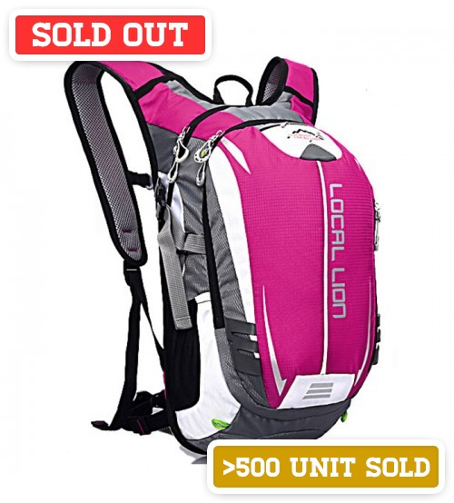 Beast 18L Outdoor Travel Backpack Pink