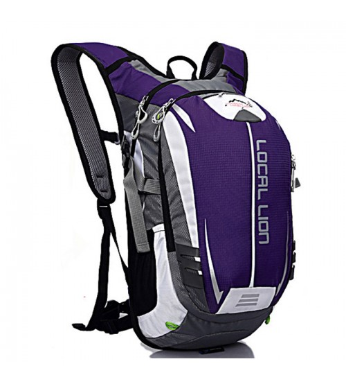 Beast 18L Outdoor Travel Backpack Purple