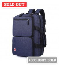 Axis Leisure Laptop Backpack Navy Blue