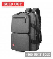 Axis Leisure Laptop Backpack Grey