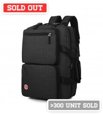 Axis Leisure Laptop Backpack Black
