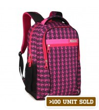 Halo Travel & Leisure Backpack Tetris Pink