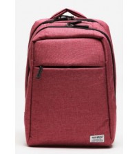 Nerdy Prof Travel Leisure Laptop Backpack Red