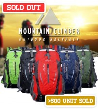 Mountain Climber Exclusive Outdoor Hiking / Camping Backpack Casual Bag