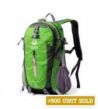 Pentagram 40L Outdoor Travel Backpack Green