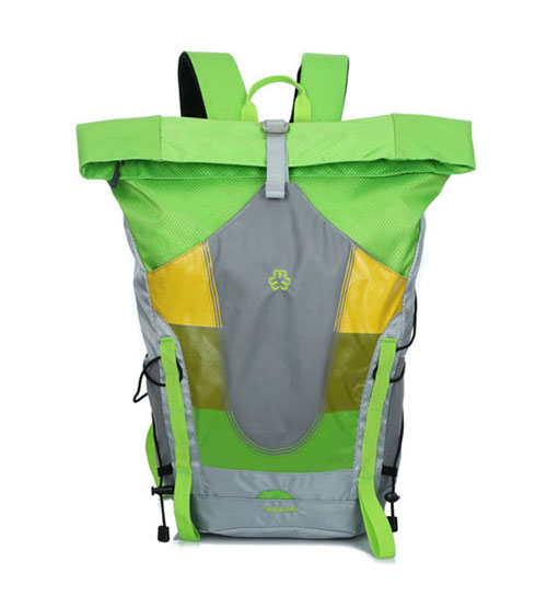 Waterproof Slashproof Outdoor Duffle Laptop Backpack (Green)
