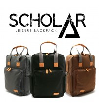Scholar Leisure and Laptop Backpack