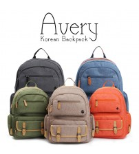 Avery Korean Laptop and Leisure Backpack