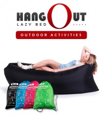 BECOOLFISH Portable HangOut Lazy Bed Air Filling Seat for Outdoor / Indoor Activities