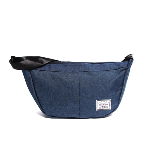 Casual Messenger Sling Pouch Bag (Navy)