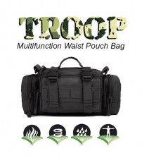 Troop Outdoor Multifunctional Tactical Waist / Sling Pouch Bag
