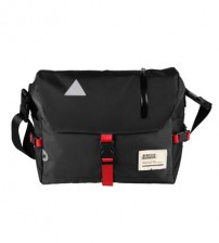 Flash Messenger Sling Shoulder Outdoor Casual Backpack (Black)