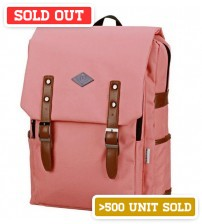English Backpack Pink