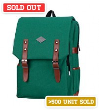English Backpack Chicago Green