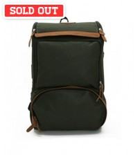 Undying Canvas Satchel Backpack Green