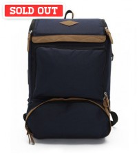 Undying Canvas Satchel Backpack Blue