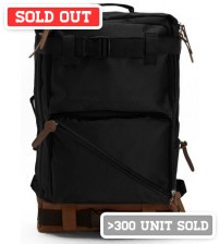 Jagger Korean Backpack Black