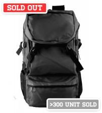 Alien Head Backpack Black