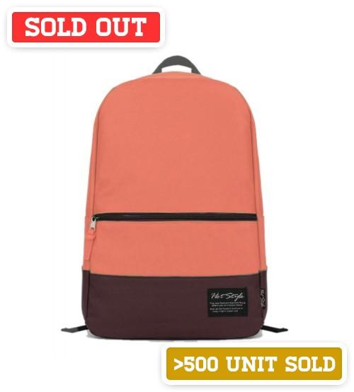 Zelda Leisure Backpack Pastel Pink