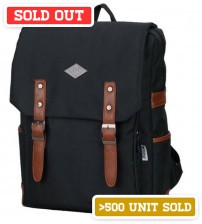 English Backpack Melbourne Black