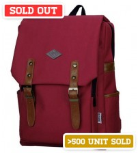 English Backpack Indian Red