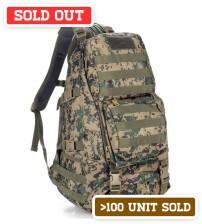 Outdoor Shoulder Backpack Hazard DeDust
