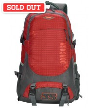 Flare Travel Outdoor Backpack Red