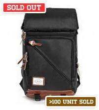 Convertible Transformer Backpack Black