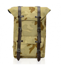 British Satchel Backpack Camouflage