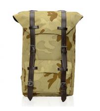 British Satchel Backpack Camouflage