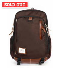 Antler Monotone Laptop Travel Backpack Brown