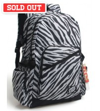 Nature's Kingdom Outing Laptop Backpack Zebra