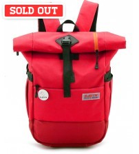 Blast Hornet Laptop Travel Satchel Backpack Red