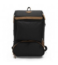 Undying Canvas Satchel Backpack Black