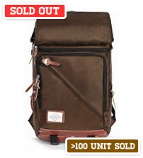 Convertible Transformer Backpack Brown