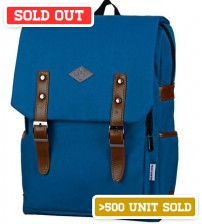 English Backpack Blue Wizard
