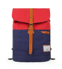 British Envelope Retro Backpack Red