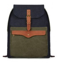 Canvas Envelope Korean Backpack Army Green