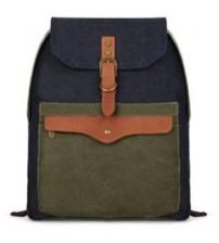 Canvas Envelope Korean Backpack Army Green