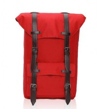 British Satchel Backpack Red