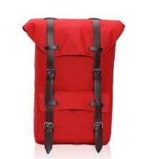 British Satchel Backpack Red
