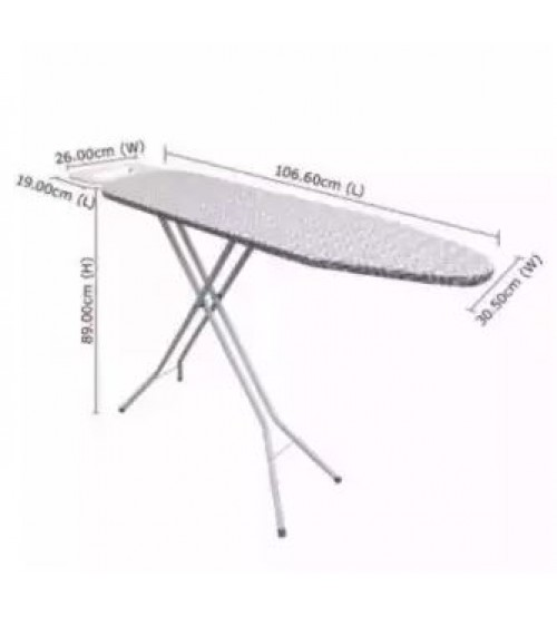 Ironing Board MY-70V2 (106.60cm x 30.50cm) For Steam & Dry Iron Use Iron Board