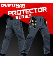 Craftsman Work Wear Multipurpose Trouser Protector Series Multi Pockets Trouser