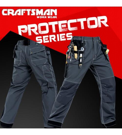 Craftsman Work Wear Multipurpose Trouser Protector Series Multi Pockets Trouser