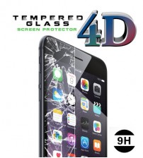 4D Tempered Glass Screen Protector Full Covered 9H For iphone 7 / iphone 7 Plus