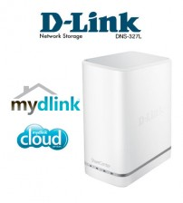 D-Link DNS-327L Cloud ShareCenter Pulse 2-Bay NAS Network Attached Storage