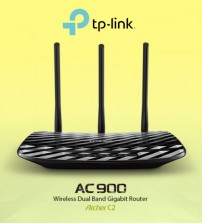 TP-LINK AC900 Wireless Dual Band Gigabit Router Archer C2 WIFI N300 uNiFi / Maxis