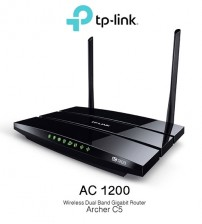 TP-LINK AC1200 Wireless Dual Band Gigabit Router Archer C5 WIFI N300 uNiFi / Maxis