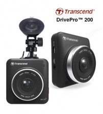 Transcend Car Video Recorders DrivePro 200 FREE 16 GB Micro SD Card Class 10